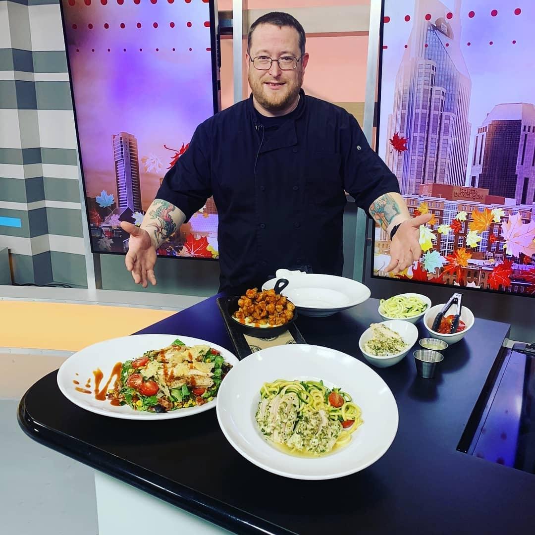 Chef Josh Groff